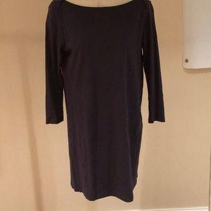 Theory, navy t- shirt dress, size M